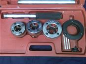 CENTRAL FORGE Sockets/Ratchet 5 PIECE RACHETING PIPE THREADER SET
